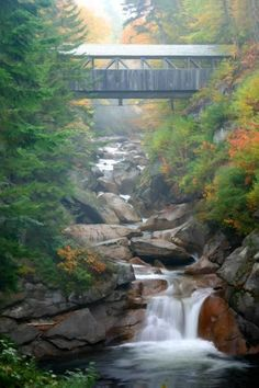 Franconia Notch State Park                       ~ New Hampshire ~