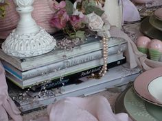 "Victorian at Heart: Gail's ""Rachel Ashwell"" Inspired Girls Night In"