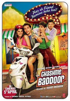 Buy Chashme Baddoor Movie DVD VCD At Greatdealworld Indian