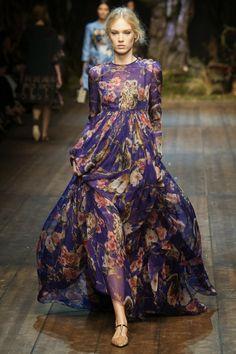 Comportamento & Moda: Dolce&Gabbana Winter 2015 Womens Fashion Show