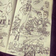 Sketchbook 2013 by Jared Muralt