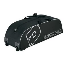 DeMarini Youth Wheeled Bag, Black by Demarini. $37.67. Untitled Document DeMARINI Youth Wheeled Players Bag Generously Sized Bag Travels Smoothly & Efficiently! DeMARINI Youth Wheeled Players Bag features: Constructed of tough polyester and nylon that resists travel abuse Large main compartments easily stores your gear Reinforced pull handle for easy travel Durable urethane wheels ensure smooth rolling Meets checked luggage requirements of all major airlines Separate bat compartm...