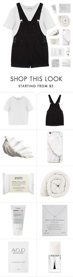 """""""- if i keep my eyes closed he looks just like you"""" by philosoqhy ❤ liked on Polyvore featuring Acne Studios, Monki, Crate and Barrel, russell+hazel, philosophy, Korres, Dogeared, Christian Dior and NARS Cosmetics"""
