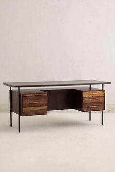 Anthropologie - Handcrafted Coalie Desk