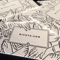 20 creative business cards pinterest business cards 20 creative business cards pinterest business cards letterpresses and business colourmoves