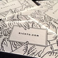 """""""We're pumped to see @rich_tu and a ton of other brilliant artists at @adcglobal's #ADCFestival in Miami Beach! Speaking of... who needs new business cards…"""""""