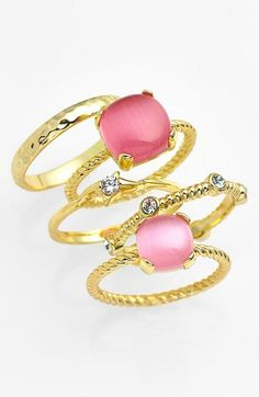 Pretty stackable rings - 40% off http://rstyle.me/n/jmrtvnyg6