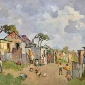 Sold | Theys, Conrad | Loins Head, from the Township Brighton College, South Africa Art, National Art Museum, South African Artists, Art Society, Ares, Art Studies, Art School, Pintura