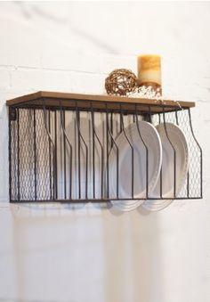 Plate Rack Wall Mounted Plate Rack Metal Plate Rack & Triple vertical plate rack - Scandi inspired | Dulwich - Kitchen ...