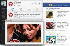 Beginilah cara cari visitor yang dilakukan salah satu penyedia berita daring, Vivanews. Portal satu ini memang suka ngebut cara promosinya. Baik lewat Twitter, Facebook dan blog ;)