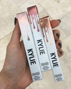 @kyliejenner: Presentation is important 😍😍😍😍 @kyliecosmetics metal matte lipsticks