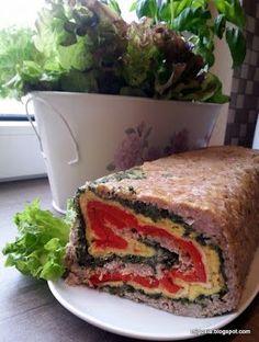 Kuchnia+moją+przyjaciółką:+Rolada++z+miesa+mielonego Sandwiches, Food And Drink, Gourmet, Paninis