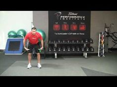Unlimited Golf Vacations, Golf Fitness Hip Strength Exercise   by Sean...