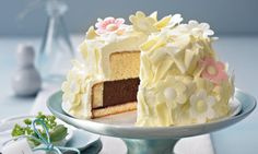 Winter-Blüten-Torte