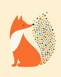 Little Fire Art Print by Andy Westface | Society6