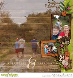 available at www.sweetshoppedesigns.com Summer Woods by Kristin Cronin-Barrow and Digital Scrapbook Ingredients