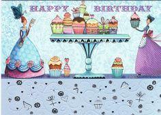 Mila Marquis : Happy Birthday - Cartes d'Art/Mila Marquis - Lulu Shop