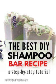 Lush Shampoo Bar, Diy Shampoo, Homemade Shampoo, Natural Shampoo, Homemade Conditioner, Organic Shampoo, Homemade Facials, How To Make Shampoo, Hair Care Recipes