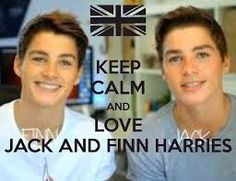 ¡Keep calm and love Jake & Finn Harries!