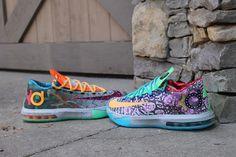 "Nike KD 6 ""What The KD"" (Closer Look) | KicksOnFire.com"