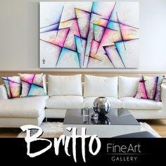 Quadros Abstratos Decorativos 150cm x 100cm QB148