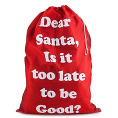 'Dear Santa' Present Sacks Sacks, Dear Santa, Presents, Holidays, Christmas, Xmas, Gifts, Holidays Events, Holiday