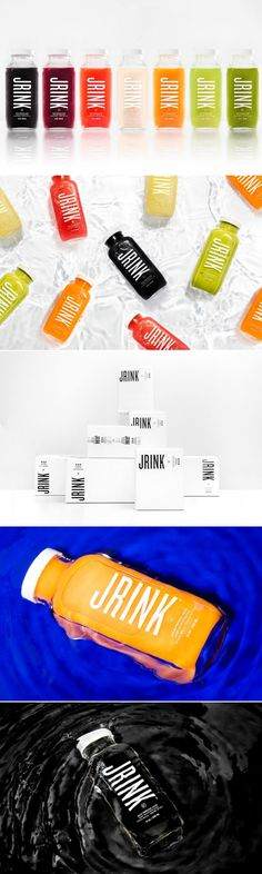 JRINK Juicery — The Dieline - Branding & Packaging Design