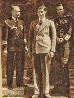Voevodul Mihai si mentorul sau comandorul Fundateanu Michael I Of Romania, Romanian Royal Family, Bucharest, Queen Victoria, My King, Royalty, Education, History, Photography