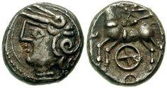 Gaul. The Aedui tribe. (Circa 80-50 BC)