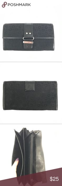 Guess Black Silver Continental Wallet To be Written. Bundle to save 20% on your order and I love offers! Guess Bags Wallets