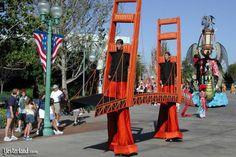 Golden Gate Bridge costume | Eureka! at Disney's California Adventure