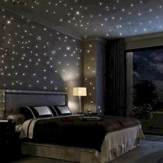 Glow In The Dark Wall Decals Bedroom Night Home Dream Rooms