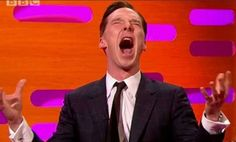 RADIO TIMES (July 25, 2014) ~ Benedict Cumberbatch's greatest ever impressions. Includes July 24th Gollum impression during MTV interview at San Diego Comic Con, Chewbacca, Alan Rickman, and many more. [Click for article and videos]