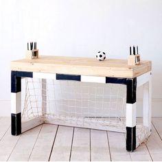 A boys dream this Football desk! More