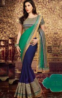 opulent-green-navy-blue-georgette-half-n-half-saree-designer-saree-800x1100.jpg