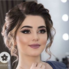 Over 90 Vintage Makeup Ideas That Highlight Your Beauty – Page 23 – # Ideas … - Wedding Makeup For Fair Skin Bridal Hair And Makeup, Bride Makeup, Wedding Hair And Makeup, Hair Makeup, Makeup Lips, Makeup Set, Mauve Makeup, Romantic Wedding Makeup, Indian Wedding Makeup