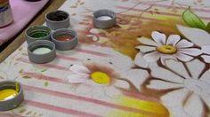 Mulher.com - 25/05/2016 - Pintura em pano de copa - Eliana Rolim PT2