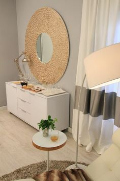 "Ana Antunes ""Comfortable White Living Room"" - for Querido Mudei a Casa Tv Show - December 2012"