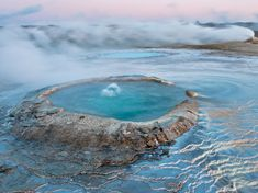 Daily National Geographic gets a lot of shots from different parts of our planet. Big Sur, Thermal Pool, Natural Phenomena, Fishing Villages, Nature Reserve, National Geographic Photos, New Age, Hot Springs, Landscape Photos