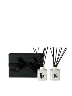 Skull/Rose Diffuser Gift Set by D.L. & Co. at Gilt