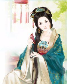 Красотки китайских мастеров живописи. Обсуждение на LiveInternet - Российский Сервис Онлайн-Дневников