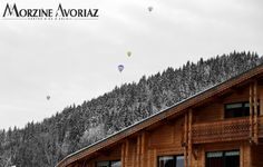 Colorful spots in the sky - Morzine, French Alps