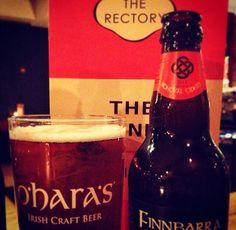 At the Rectory Bar, Birmingham. Finnbarra cider
