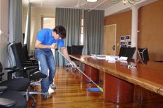 Get proper offices cleaning services by cleaners in Victoria, London from Distinct Cleaning. We are offering high quality cleaning services like Window cleaning, Washroom hygiene services, Janitorial supplies etc.