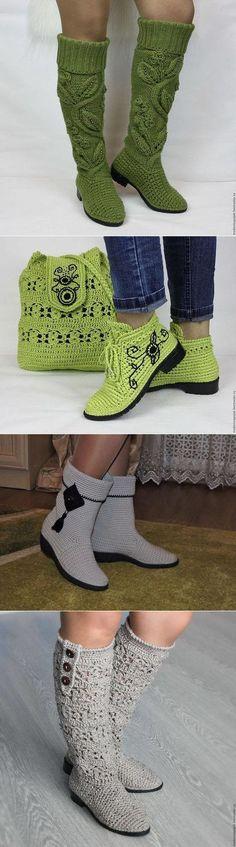 Häkeln Schuhe