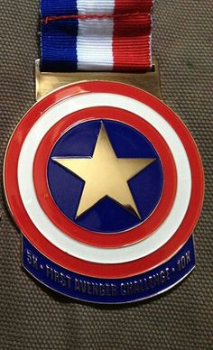 First Avenger Challenge Virtual Run Run Disney Costumes, Running Costumes, Virtual Run, Running Race, Chris Evans Captain America, Cool Things To Make, The Past, Challenges, Racing