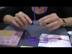 ▶ Paper Quilling Demo by Alli Bartkowski with Joyce Chow - 2 - YouTube