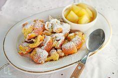 Șmoră coaptă sau Kaiserschmarrn - rețetă din Banat Tiramisu, Acai Bowl, French Toast, Caramel, Bacon, Breakfast, Food, Kaiserschmarrn, Acai Berry Bowl