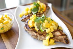 Caribbean-Style Grilled Citrus Chicken, A Colorful Note To End The Summer Eating Season On