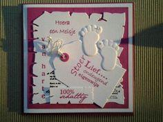Geboorte kaartjes Marianne Design, Baby Cards, Baby Shower Invitations, Frame, Om, Cards, Picture Frame, Frames, Hoop